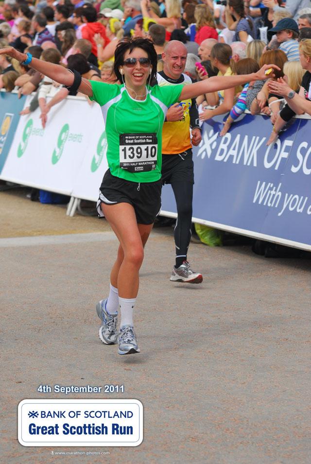 Charlene Finishes Marathon